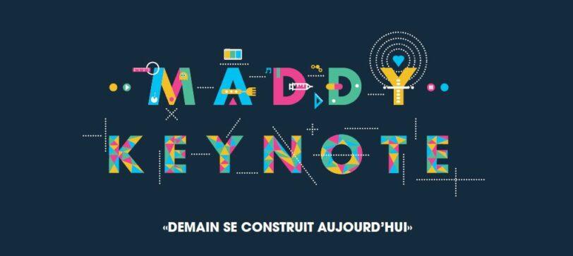 Maddy Keynote 2017 visuel